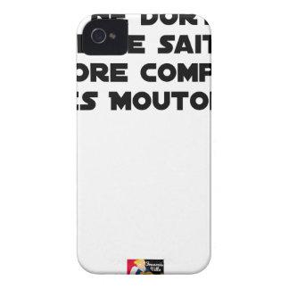 FUNDA PARA iPhone 4 BEBÉ NO DUERME YA QUE NO SABE AÚN CONTAR