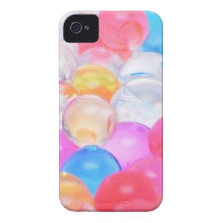Funda Para iPhone 4 bolas transparentes