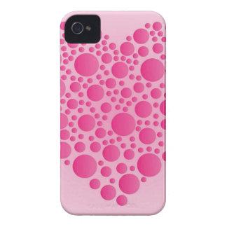 Funda Para iPhone 4 Ciervo rosado de la burbuja