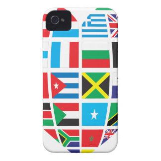 Funda Para iPhone 4 Corazón global