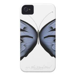 Funda Para iPhone 4 Criada azul del pantano del azul de la mariposa 4