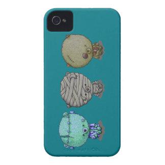 Funda Para iPhone 4 De Case-Mate 3 pequeños monstruos