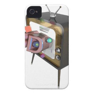 FUNDA PARA iPhone 4 DE Case-Mate 3D TV