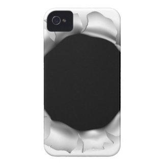Funda Para iPhone 4 De Case-Mate Agujero o rasgón de bala a través del fondo