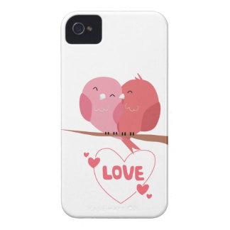 Funda Para iPhone 4 De Case-Mate Amor del pájaro