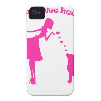 Funda Para iPhone 4 De Case-Mate amor pitty