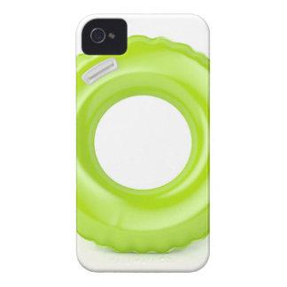 Funda Para iPhone 4 De Case-Mate Anillo verde de la nadada