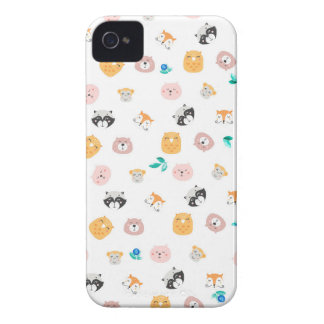 Funda Para iPhone 4 De Case-Mate Animals face