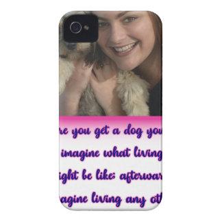 Funda Para iPhone 4 De Case-Mate Antes de que usted consiga un perro