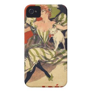 Funda Para iPhone 4 De Case-Mate Anuncio del francés del vintage