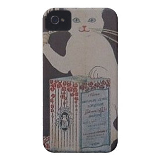 Funda Para iPhone 4 De Case-Mate Anuncio francés del vintage - gatos