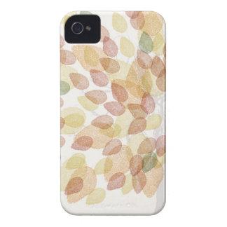 Funda Para iPhone 4 De Case-Mate Árbol de abedul en colores de la caída