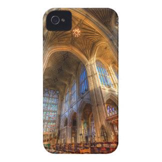 Funda Para iPhone 4 De Case-Mate Arquitectura de la abadía del baño