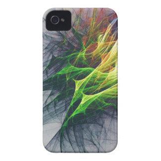 Funda Para iPhone 4 De Case-Mate Arte abstracto del modelo del fractal en 3d