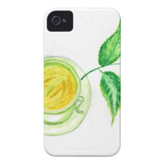 Funda Para iPhone 4 De Case-Mate Arte del té verde