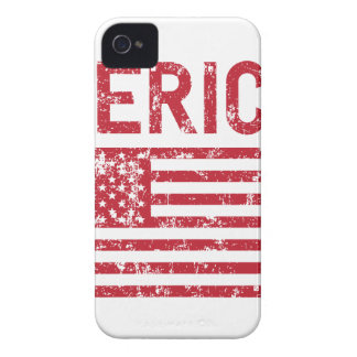 Funda Para iPhone 4 De Case-Mate Bandera de Merica