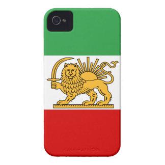 Funda Para iPhone 4 De Case-Mate Bandera de Persia/de Irán (1964-1980)
