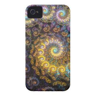 Funda Para iPhone 4 De Case-Mate Belleza del fractal del nautilus