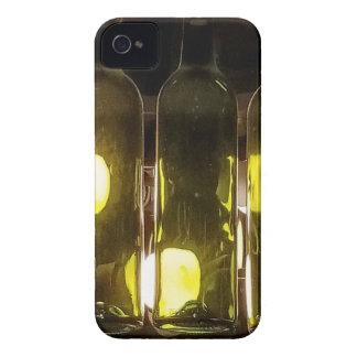 Funda Para iPhone 4 De Case-Mate Botella de vino enrrollada artística de Masculinev