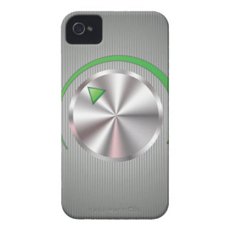 Funda Para iPhone 4 De Case-Mate Botón metalizado
