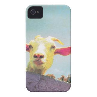 Funda Para iPhone 4 De Case-Mate cabra Rosado-espigada