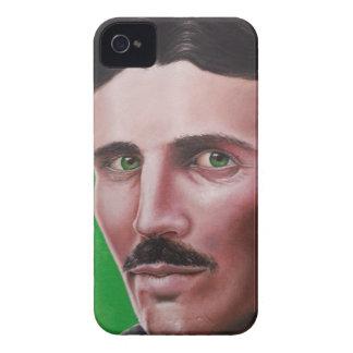 Funda Para iPhone 4 De Case-Mate Caja del teléfono de Tesla