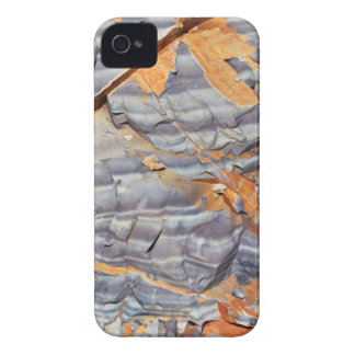 Funda Para iPhone 4 De Case-Mate Capas naturales de ágata en una piedra arenisca