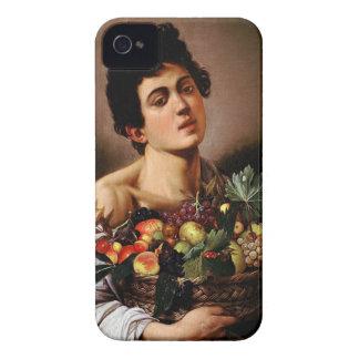 Funda Para iPhone 4 De Case-Mate Caravaggio - muchacho con una cesta de