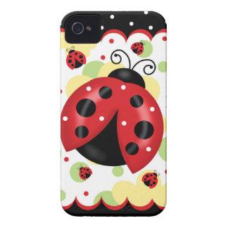 Funda Para iPhone 4 De Case-Mate Caso de Barely There del iPhone 4 de la mariquita