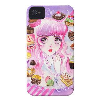 Funda Para iPhone 4 De Case-Mate Chica de la panadería