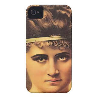 Funda Para iPhone 4 De Case-Mate Chica estoico con mirada intensa