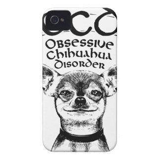 Funda Para iPhone 4 De Case-Mate Chihuahua obsesiva de OCD