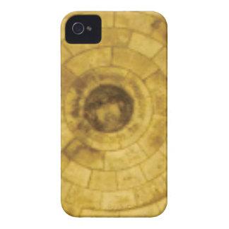 Funda Para iPhone 4 De Case-Mate círculos de piedra amarillos