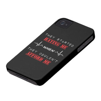 Funda Para iPhone 4 De Case-Mate Cita de la actitud en el iPhone 4, caso de Barely