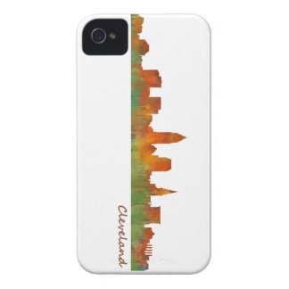 Funda Para iPhone 4 De Case-Mate cleveland Ohio USA Skyline city v01