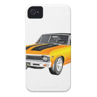 Funda Para iPhone 4 De Case-Mate Coche 1968 del músculo del oro