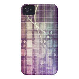 Funda Para iPhone 4 De Case-Mate Concepto abstracto futurista en tecnología