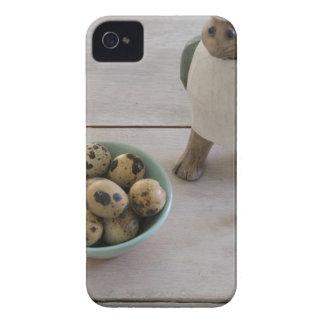 Funda Para iPhone 4 De Case-Mate Conejito y huevos en un cuenco