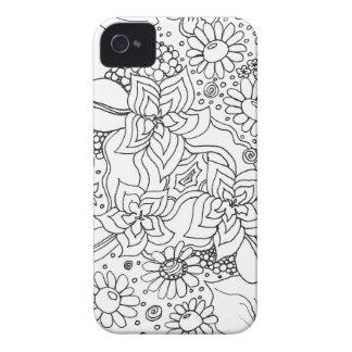 Funda Para iPhone 4 De Case-Mate Conglomeración de flores