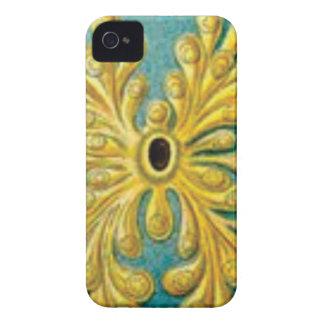 Funda Para iPhone 4 De Case-Mate cubierta de oro de las hojas