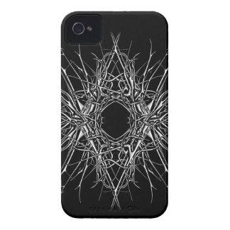 Funda Para iPhone 4 De Case-Mate dark metal