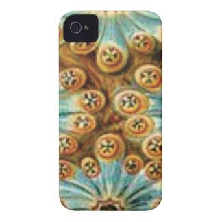 Funda Para iPhone 4 De Case-Mate diseño azul del moreno de formas