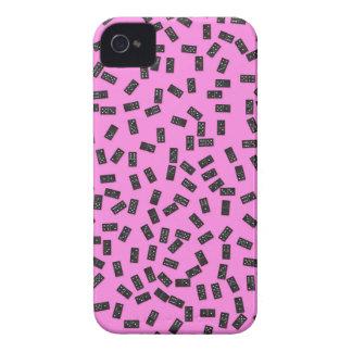 Funda Para iPhone 4 De Case-Mate Dominós en rosa