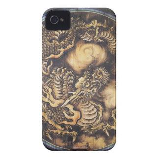 Funda Para iPhone 4 De Case-Mate Dragón oriental japonés tradicional - 日本 - 鳴き龍