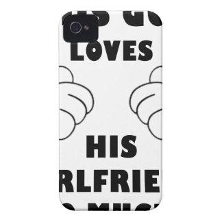 Funda Para iPhone 4 De Case-Mate El individuo ama a la novia