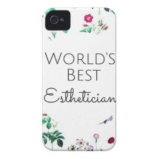 Funda Para iPhone 4 De Case-Mate El mejor regalo 4 del Esthetician del mundo