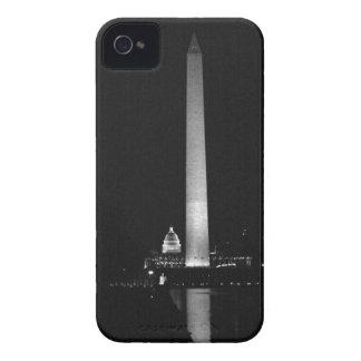 Funda Para iPhone 4 De Case-Mate El resplandor de 0031 Washington (noche B&W).JPG