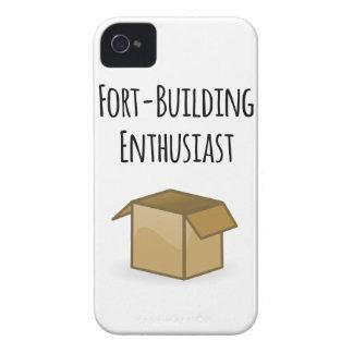 Funda Para iPhone 4 De Case-Mate Entusiasta del Fuerte-Edificio