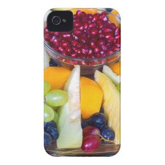 Funda Para iPhone 4 De Case-Mate Escala de cristal por completo de diversas frutas