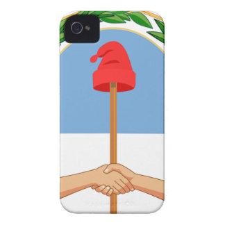 Funda Para iPhone 4 De Case-Mate Escudo de la Argentina - escudo de armas de la